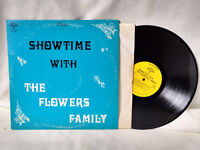 The Flower Family LP Showtime with The Flower Family Private Lounge Jazz NM-