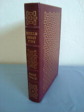 HUCKLEBERRY FINN Mark Twain Easton Press Leather Bound