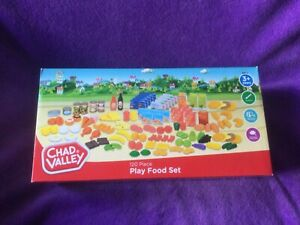CHAD VALLEY 120 PIECE PLAY FOOD SET. SUITABLE FOR 3 YEARS & OVER