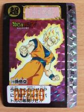 Carte Dragon Ball Z DBZ Carddass Hondan Part 10 #378 Prisme 1992 MADE IN JAPAN
