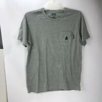 Uniqlo UT Monster Hunter X Men's Graphic Gray Short Sleeve T-Shirt Size L