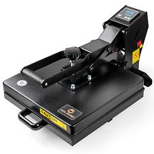 Goldoro 15x15 Digital Clamshell T Shirt Heat Press Machine Sublimation Transfer