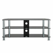 1Home 120cm GT5 Glass TV Stand for 32 to 70-Inch Plasma LCD LED 3D Television