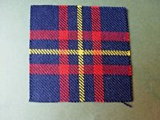 Cameron Highlanders & Queens Own Highlanders badge backing (Cameron of Erracht)