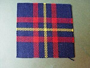 Cameron Highlanders & Queens Own Highlanders badge backing (Cameron of Erracht)