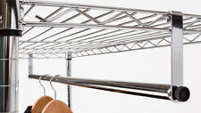 "48"" Clothes Hanging Bar for Wire Racks"