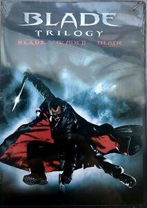 BLADE - TRILOGY * DVD * Wesley Snipes Vampire * Brand New Factory Sealed