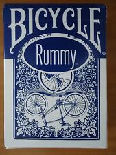 Bicycle RUMMY LEAGUE BACK 1 NEW sealed playing card deck, Ohio BLUE SEAL