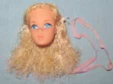 REPLACEMENT HEAD FOR VINTAGE QUICK CURL BARBIE DOLL-1972