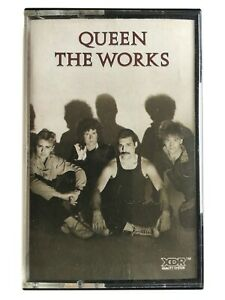 Queen - The Works - Cassette Radio Gaga, I Want to Break Free, It's a Hard Life