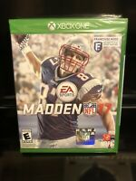 Madden NFL 17 - Xbox One - Brand New | Factory Sealed !