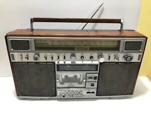 SANYO M-X820K Vintage BOOMBOX Stereo Cassette / Rare Old School