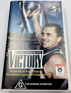 Road To Victory Collingwood Magpies VHS Video Cassette Tape PAL G
