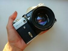 Russian Soviet ZENIT-E camera  Helios-44-2 lens vintage USSR Olimpic