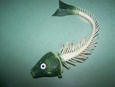 plastic rotten fish bone skeleton toy