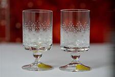 2 Rosenthal Romanze Likörgläser Schnaps Kristall 7,2 cm ( 4 Sätze verfügbar )