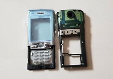 100% Original Nokia N91 front cover,keypad,middle Silver