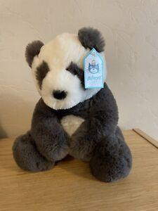 Jellycat Medium Harry Panda New With Tags