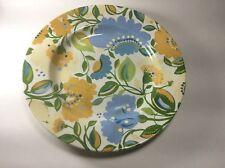 "Spode Kim Parker Home Chicory Hymn Floral Dinner Plate s 10 1/2"""
