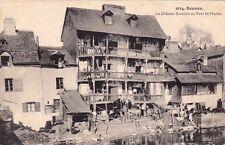 RENNES 1014 le château branlant au pont saint-martin lavandière