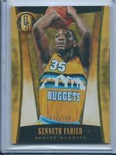 2013-14 Panini Gold Standard Kenneth Faried /199