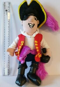The Wiggles Captain Feathersword Soft Plush Toy 2008 Pirate 25cm Preowned