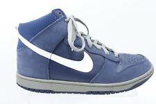 NIKE 317982-401 -Dunk High -Midnight Navy - Men's Basketball Shoes -US Sz 11