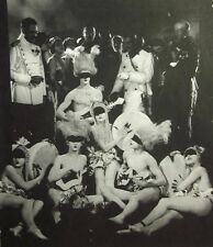 MERRY WIDOW clipping small B&W photo 1925 orgy scene John Gilbert