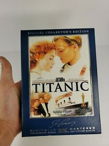 Titanic DVD 2005 3-Disc Special Collectors Edition Box Set Leonardo Dicaprio