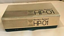 Hewlett Packard Very Rare HP-01 Calculator Watch Stainless w/ Alligator Skin, FW