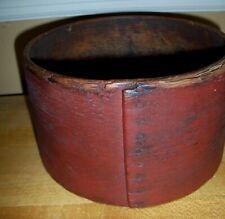 """Primitive Antique Vintage Wooden  Grain Measure 7 1/2"""""""