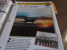 Faszination 4 187 Tupolew Tu 22 Blinder Bomber UDSSR