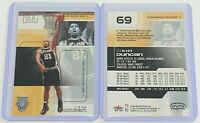 2002-03 Fleer Hot Shots Tim Duncan #69 NBA San Antonio Spurs Basketball Card