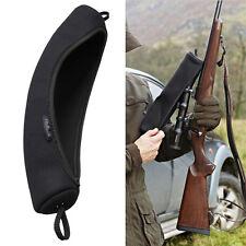Tourbon Rifle Scope Case Telescope Cover Neoprene Black Protector Guard Hunting
