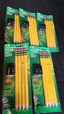 Ticonderoga My First 2 Beginners Pencils Lot Of 5 33309 Sharpener New