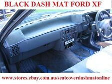 BLACK DASH MAT, DASHMAT TO SUIT FORD XF+XG 1986 - 1994 UTE, BLACK