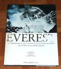 """""""EVEREST - IMMAGINI DI 70 ANNI DI SFIDE ALLA MONTAGNA"""" Vallardi (alpinismo)"""