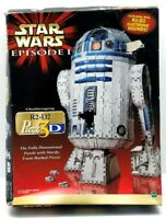 Puzz3D Star Wars Episode 1 R2-D2 3D Puzzle Electronic Sound COMPLETE / Free Ship