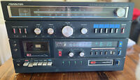 Vintage Soundesign 5958 AM-FM Stereo Reciever Cassette Recorder 8 Track Player