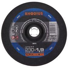 Rhodius XTK77 Trennscheiben 230x1,9x22,23mm Stahl Trennen dünn
