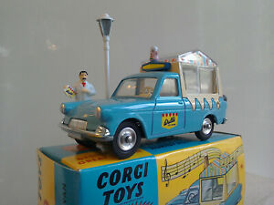 CORGI TOYS by HORNBY, WALL'S ICE CREAM VAN ON FORD THAMES CHASSIS, BOX + EXTRA'S