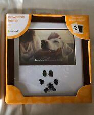 Dog Cat Pet Paw Print Photo Keepsake Frame Memorial Remember Memory