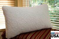 Queen REMarkable Hotel Gel Pillow Tencel Knit Cover