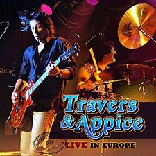 Travers & Appice - Live in Europe [New CD]