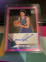 ISAIAH ROBY 2019-20 DONRUSS OPTIC PINK PRIZM ON CARD AUTO ROOKIE DALLAS 21/25