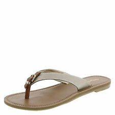 Women's Synthetic Buckle Sandals and Flip Flops