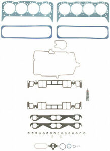 FEL-PRO HS7733PT-16 Cylinder Head Gasket Kit - Fits Small Block Chevy