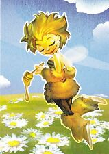 RARE Honey bumblebee fairy pixie Russian modern postcard