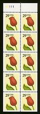 #2527a 29c Flower, Booklet Pane-never Folded, Mint **ANY 4=FREE SHIPPING**