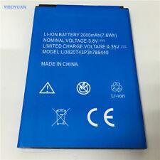 1 un. Nueva Batería para ZTE Blade L370 ZTE Blade L2 LI3820T43P3h785440 2000mAh Plus